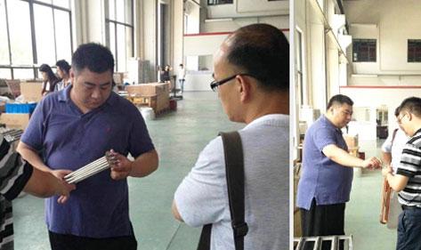 【动态】宏华电器魏总经理率技术工程师实地考察供应商