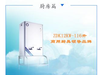 厨具设备商优选品牌开水器之宏华电开水器ZDK-116升