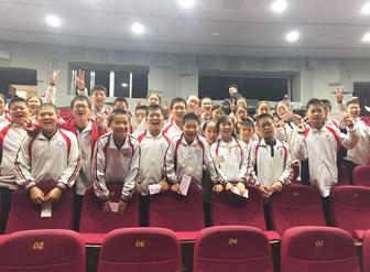 为了学生和老师的健康,喝水只用宏华开水器――中国传媒大学附属中学