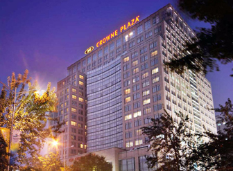 北京中关村皇冠假日酒店安装了宏华智能电控开水器啦!