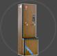花梨木纹连续式全自动电开水器 LX